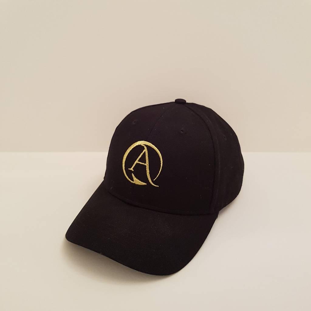 Arpione 100% Cotton Black Arpione Cap