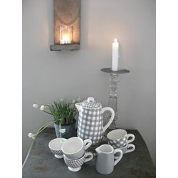 At Home with Marieke Tea set, teapot, 4 cups, milk/sugarbowl