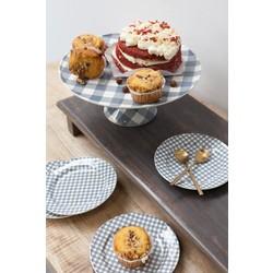 At Home with Marieke At Home with Marieke voordeel set taart plateau en bordjes grijs