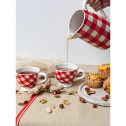 At Home with Marieke At Home with Marieke tea service set red