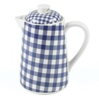 At Home with Marieke Teapot Livia Blue 1500ml