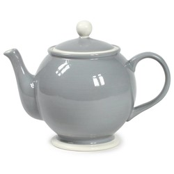 At Home with Marieke Teapot Puck Grey 1500ml