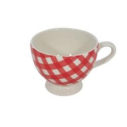 At Home with Marieke Mug XL Livia Red 400ml