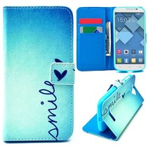 Smile Bookcase hoes Alcatel One Touch Pop C7