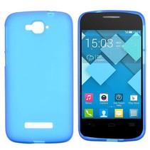 Blauw TPU hoesje Alcatel One Touch Pop C7