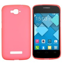 Rood TPU hoesje Alcatel One Touch Pop C7