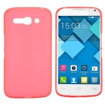 Rood TPU hoesje Alcatel One Touch Pop C9