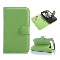 Groene lychee Bookcase hoes Blackberry Classic