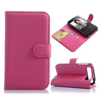 Roze lychee Bookcase hoes Blackberry Classic