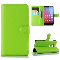 Groen Litchi Bookcase Hoesje Honor 5X