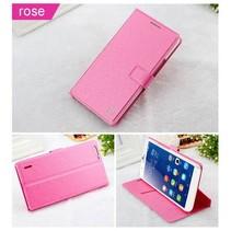 Silk roze Bookcase hoes Honor 6 Plus