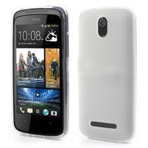 Compact effen wit TPU hoesje HTC Desire 500