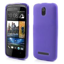 Paars TPU hoesje HTC Desire 500