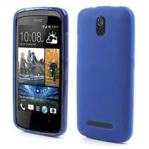 Blauw TPU hoesje HTC Desire 500