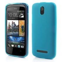 Lichtblauw TPU hoesje HTC Desire 500