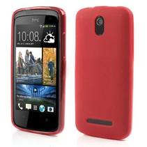 Rood TPU hoesje HTC Desire 500