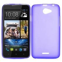 Paars TPU hoesje HTC Desire 516