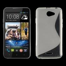 Transparant S-design TPU hoesje HTC Desire 516