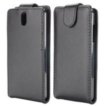 Zwart Flip Case hoesje HTC Desire 610