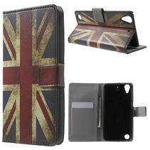 Britse Vlag Bookcase Hoesje HTC Desire 530 / 630