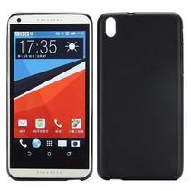 Zwart TPU hoesje HTC Desire 816