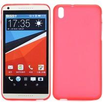 Rood TPU hoesje HTC Desire 816