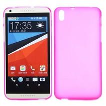 Roze TPU hoesje HTC Desire 816