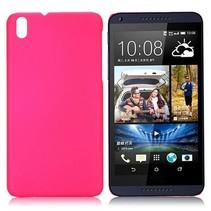 Roze hardcase hoesje HTC Desire 816