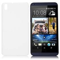 Wit hardcase hoesje HTC Desire 816