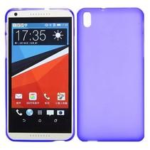 Paars TPU hoesje HTC Desire 816