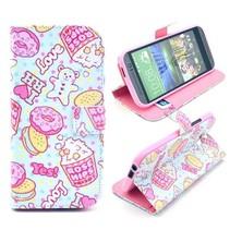 Snoepgoed design Bookcase hoesje HTC One M8 / M8s