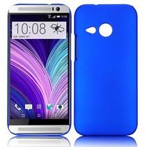 Blauw hardcase hoesje HTC One Mini 2