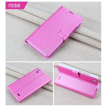 Flow series roze Bookcase hoes Huawei Ascend G630