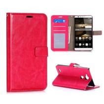 Roze zakelijk Bookcase hoesje Huawei Mate 7