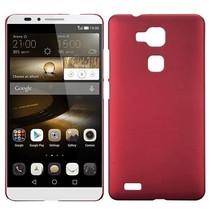 Rood hardcase hoesje Huawei Mate 7