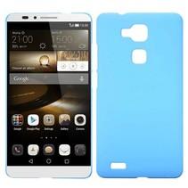 Lichtblauw hardcase hoesje Huawei Mate 7