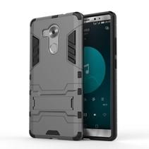 Grijs Hybrid Hoesje Huawei Mate 8