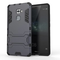 Grijs Hybrid Hoesje Huawei Mate S