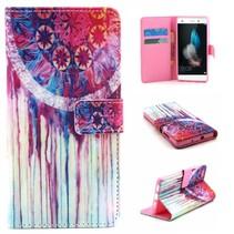 Dromenvanger Bookcase hoes Huawei P8 Lite