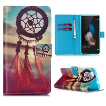 Dreamcatcher Bookcase hoes Huawei P8 Lite