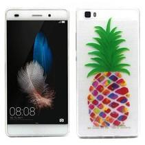 Ananas TPU hoesje Huawei P8 Lite