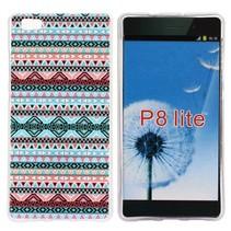 Aztec design TPU hoesje Huawei P8 Lite