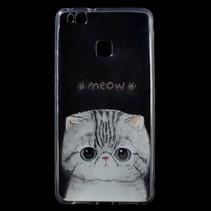 Meow TPU Hoesje Huawei P9 Lite