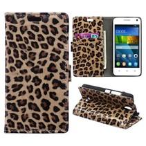 Luipaard Bookcase Hoesje Huawei Y360