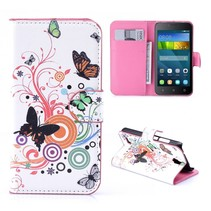 Vlinders Bookcase Hoesje Huawei Y5