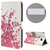 Bloesem Bookcase Hoesje Huawei Y5II