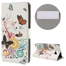Vlinder Bookcase Hoesje Huawei Y5II