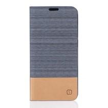 Grijs Duocolor Bookcase Hoesje Huawei Y5II