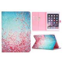 Roze bloesem flipstand hoes iPad Air 2
