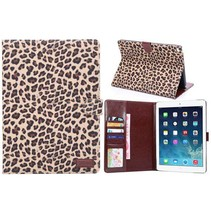 Luipaard flipstand hoes iPad Air 2